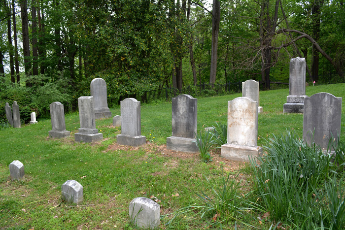 Protected Graveyard in Maryland