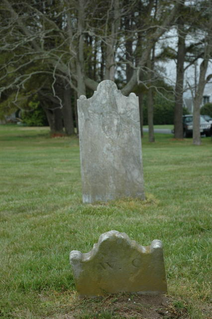 Capt. William Carhart's grave
