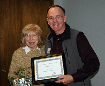 Paul Miller - 2006 Periwinkle Award Recipient