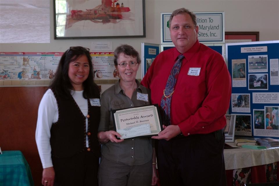 Michael Boerner - 2009 Periwinkle Award Recipient