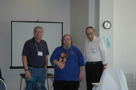 Jeff Nesmeyer, Melvin Mason, and Gary Kraske